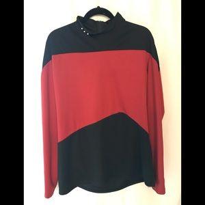 Star Trek Next Generation uniform top